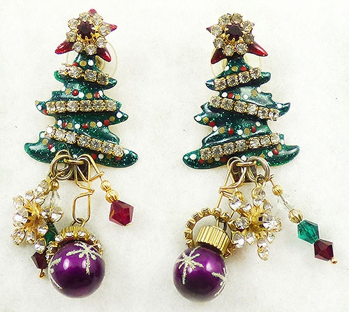 "Newly Added Lunch at the Ritz ""Christmas Crepes"" Earrings"