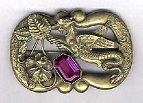 Newly Added George Steere Art Nouveau Sash Pin