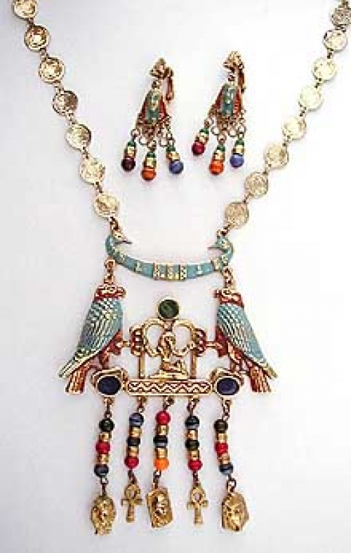 Newly Added Art Egyptian Necklace Set