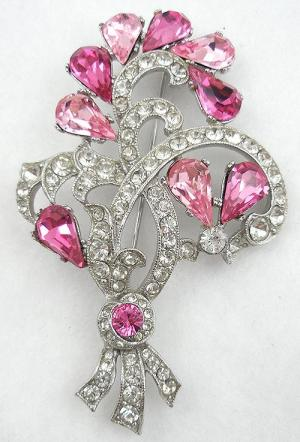 Bogoff floral brooch garden party collection vintage jewelry for Bogoff vintage costume jewelry